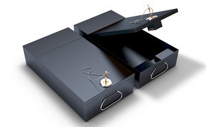 3D model safety deposit box