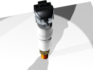 voltage nozzle 3D model