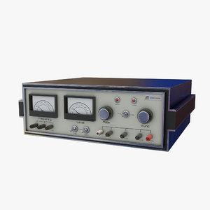 3D model retro computer 13