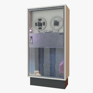 retro computer 02 3D model