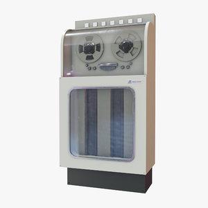 retro computer 01 3D