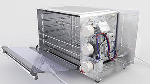 oven mini 3D