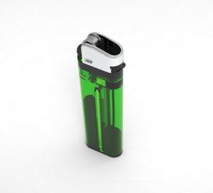 3D disposable lighter