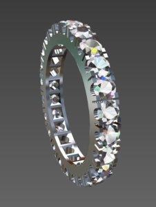 anello 24 pietre model