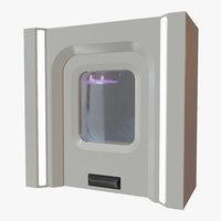 Sci Fi Door 01
