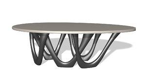 3D table organic
