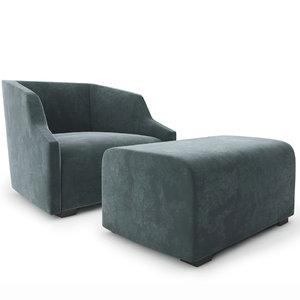 3D gallotti radice armchair