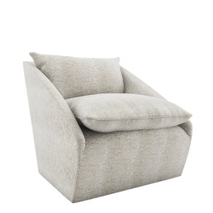3D harper swivel chair model