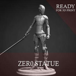 3D model zer0 print