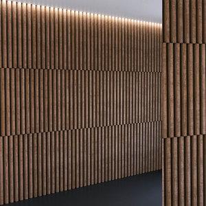 3D model wall panel set 112
