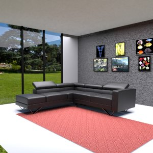 living room sofa 3D model