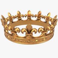 Crown X2 Fleur-de-lis CNC