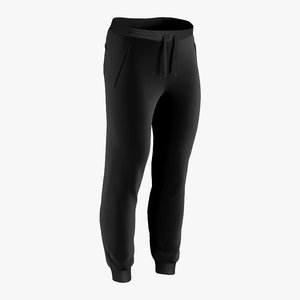 3D sweatpants male
