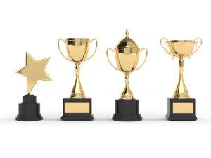 cups trophy 3D model