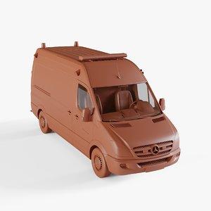 3D vehicle ambulance model