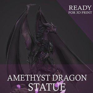 dragon print zbrush 3D model