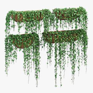 wire wall 3D model