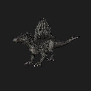 spinosaurus dinosaur animation model
