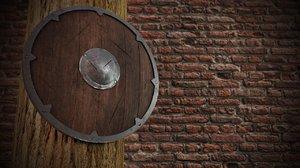 old viking shield model