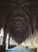 Gothic hallway modular kit