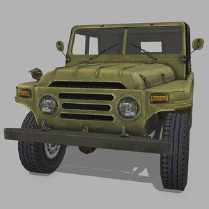 3D offroad vehicle model