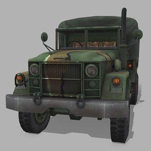 m35 cargo truck 3D