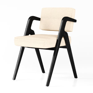3D model eugenio dining chair