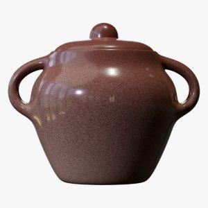 bean pot 3D model