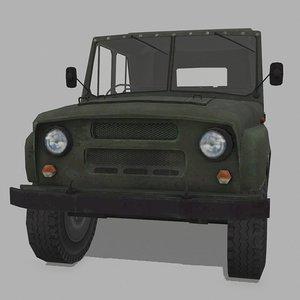 russian trucks 3D model