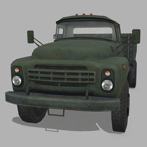 russian truck 3D