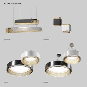 lampatron casing light lamps 3D model