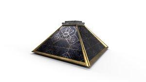 3D mage pyramid