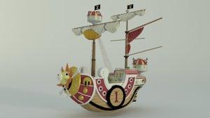3D modelo thousand sunny model