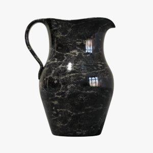 marble jug 3D model