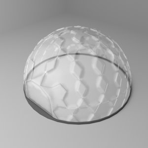 dome greenhouse 3D