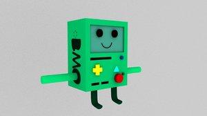 character bmo 3D model