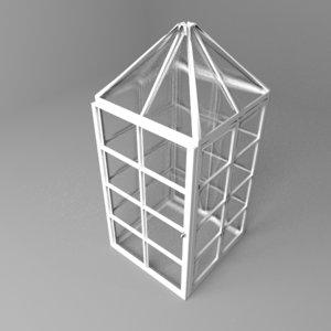post greenhouse 3D