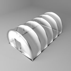 3D tunnel greenhouse