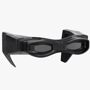 sci-fi goggles v02 3D model
