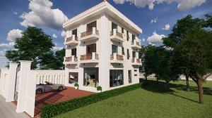 bungalow classic 3D model