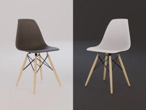 3D eames chair seat model