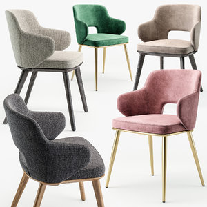 3D foyer armchair model