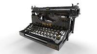 Typewriter Underwood No5