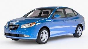 3D hyundai car model