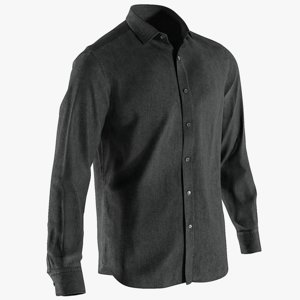 realistic men s shirt 3D