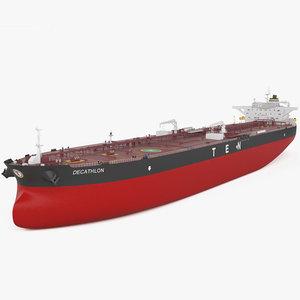 crude oil decathlon 3D model