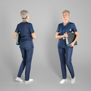 human adult woman surgical 3D