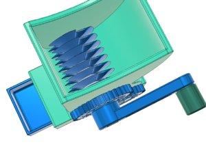 herb grinder 3D model
