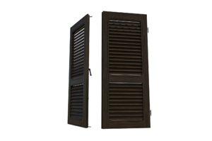wood shutters 3D model