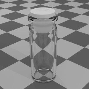 glass ampoule cap 3D model